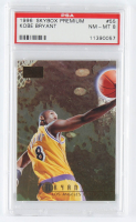 Kobe Bryant 1996-97 SkyBox Premium #55 RC (PSA 8) at PristineAuction.com