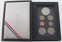 1991 United States Mint Prestige Set with (7) Coins at PristineAuction.com