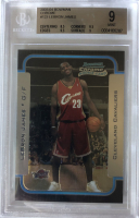 LeBron James 2003-04 Bowman Chrome #123 RC (BGS 9) at PristineAuction.com