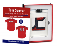1984 TOM SEAVER WHITE SOX GAME WORN JERSEY MYSTERY SWATCH BOX! at PristineAuction.com
