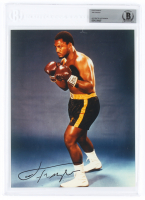 Joe Frazier Signed 8x10 Photo (Beckett Encapsulated) at PristineAuction.com