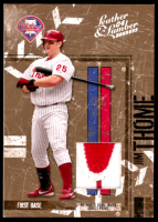 Jim Thome 2004 Leather and Lumber Materials Jersey Prime #113 at PristineAuction.com