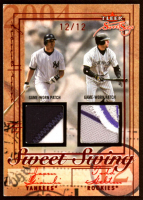 Jason Giambi / Todd Helton / Jeff Bagwell / Jim Thome 2004 Fleer Sweet Sigs Sweet Swing Quad Patch #GHBT at PristineAuction.com