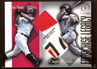Jim Thome / Jeff Bagwell 2004 Fleer Legacy Franchise Dual Patch #JTJB at PristineAuction.com