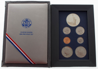1986 United States Mint Prestige Set with (7) Coins at PristineAuction.com
