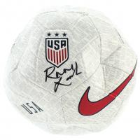 Rose Lavelle Signed Team USA Logo Soccer Ball (JSA COA) at PristineAuction.com