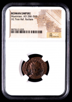 Maximian - AD 286-310 - AE Post-Ref. Radiate - Roman Empire Bronze Coin (NGC Encapsulated) at PristineAuction.com