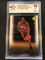 LeBron James 2003 Upper Deck LeBron James Box Set #24 / The Next Level (BCCG 10) at PristineAuction.com
