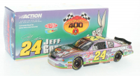 Jeff Gordon LE #24 DuPont / Looney Tunes 2001 Monte Carlo 1:24 Scale Die Cast Bank Car at PristineAuction.com