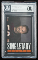Mike Singletary Signed 1985 Topps #34 (BGS Encapsulated) at PristineAuction.com