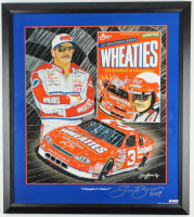 """Sam Bass Signed """"Champions Choice!"""" 27x30 Custom Framed Lithograph Display (PA LOA) at PristineAuction.com"""