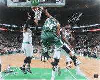 Giannis Antetokounmpo Signed Bucks 16x20 Photo (Beckett COA) at PristineAuction.com