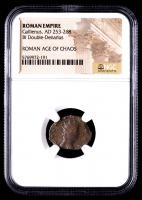 Gallienus - AD 253-268 - Bi Double-Denarius - Roman Empire Bronze Coin (NGC Encapsulated) at PristineAuction.com