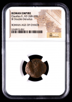 Claudius II - AD 268-270 - Bi Double-Denarius - Roman Empire Bronze Coin (NGC Encapsulated) at PristineAuction.com