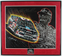 "Sam Bass ""Dale Earnhardt 25th Anniversary"" 24x26 Custom Framed Lithograph Display at PristineAuction.com"