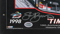 "Sam Bass Signed Dale Earnhardt ""Timeless"" 22x26 Custom Framed Lithograph Display (PA LOA) at PristineAuction.com"