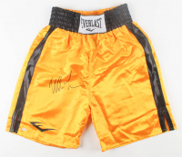 Mike Tyson Signed Boxing Trunks (PSA COA) at PristineAuction.com
