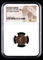 Salonina - AD 254-268 - Bi Double-Denarius - Roman Empire Bronze Coin (NGC Encapsulated) at PristineAuction.com
