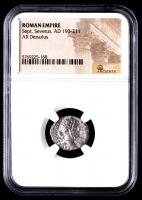 Sept. Severus AD 193-211 - AR Denarius - Roman Empire Silver Coin (NGC Encapsulated) at PristineAuction.com