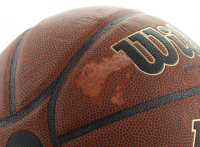 """John Wooden Signed NCCA Basketball Inscribed """"UCLA"""" (Beckett COA) at PristineAuction.com"""