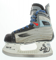 Brad Marchand Signed Hockey Skate (Merchand Hologram) at PristineAuction.com