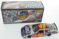 Jimmie Johnson LE #48 Lowe's / American Heroes 2007 Monte Carlo SS 1:24 Diecast Car at PristineAuction.com