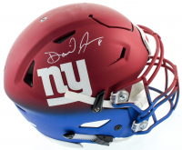 Daniel Jones Signed Giants Full-Size Authentic On-Field Speedflex Helmet (Beckett Hologram) at PristineAuction.com