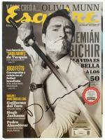 "Demian Bichir Signed ""Esquire"" Magazine (JSA COA) at PristineAuction.com"