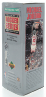1991 Upper Deck NBA Michael Jordan Locker Series Box with (7) Packs at PristineAuction.com