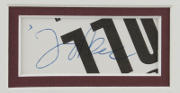 Jeff Beck Signed 15.5x20 Custom Framed Photo Display (JSA COA) at PristineAuction.com