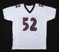 """Ray Lewis Signed Jersey Inscribed """"HOF 18"""" (Beckett COA & Lewis Hologram) at PristineAuction.com"""