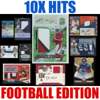 Mystery Ink 10X Hits Football Edition Mystery Box- 10 Autos / Jerseys / Relics Cards in Every Pack! at PristineAuction.com