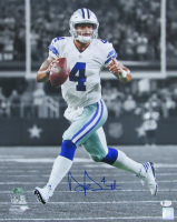 Dak Prescott Signed Cowboys 16x20 Photo (Beckett COA) at PristineAuction.com