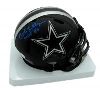 "Bob Lilly Signed Cowboys Eclipse Alternate Speed Mini-Helmet Inscribed ""HOF '80"" (Beckett COA) at PristineAuction.com"