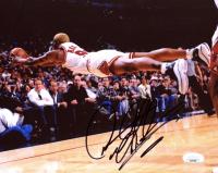 Dennis Rodman Signed Bulls 8x10 Photo (JSA COA) at PristineAuction.com
