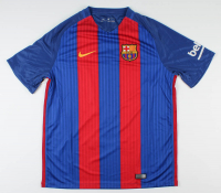 Luis Suarez Signed FC Barcelona Jersey (Beckett COA) at PristineAuction.com