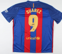 Luis Suarez Signed FC Barcelona Jersey (Beckett Hologram) at PristineAuction.com