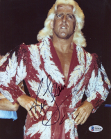 Ric Flair Signed WWE 8x10 Photo (Beckett COA) at PristineAuction.com