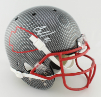Clyde Edwards-Helaire Signed Full-Size Authentic On-Field Hydro-Dipped Helmet (Beckett COA) at PristineAuction.com