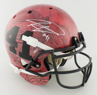 Kenyan Drake Signed Full-Size Authentic On-Field Hydro-Dipped Helmet (Beckett COA) at PristineAuction.com