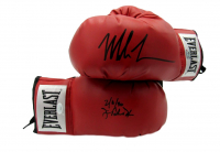"""Lot of (2) Everlast Boxing Gloves Signed By Mike Tyson & James """"Buster"""" Douglas Inscribed """"2/11/90"""" (JSA COA) at PristineAuction.com"""