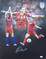 Alex Morgan Signed Team USA Soccer 16x20 Photo (PSA COA) at PristineAuction.com