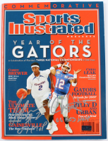"""Corey Brewer & Chris Leak Signed 2007 Sports Illustrated Magazine Inscribed """"07 MOP"""" & """"06 BCS MVP"""" (Palm Beach COA) at PristineAuction.com"""