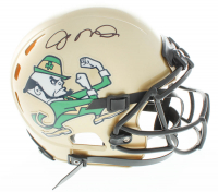 Joe Montana Signed Notre Dame Fighting Irish Full-Size Authentic On-Field Vengeance Helmet (JSA COA) at PristineAuction.com