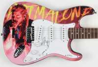 "Post Malone Signed ""Post Malone"" Full-Size Electric Guitar (PSA Hologram) at PristineAuction.com"