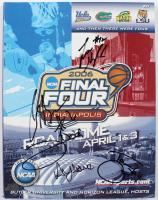 2006 Final Four Tournament Program Signed by (5) with Al Horford, Corey Brewer, Taurean Green, Joakim Noah & Lee Humphrey (Palm Beach COA) at PristineAuction.com