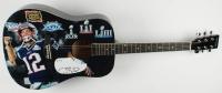"""Tom Brady Signed """"Tom Brady"""" Custom Acoustic Guitar (PSA LOA) at PristineAuction.com"""