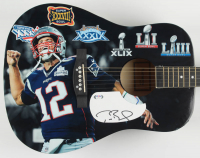 "Tom Brady Signed ""Tom Brady"" Custom Acoustic Guitar (PSA LOA) at PristineAuction.com"