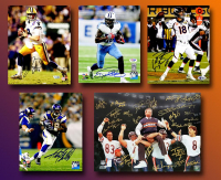 Schwartz Sports Football TOUCHDOWN Mystery Box - Series 7 (Limited to 100) (6+ Autograph Items per Box) at PristineAuction.com