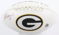 Brett Favre Signed Packers Logo Football (Beckett COA & Favre Hologram) at PristineAuction.com